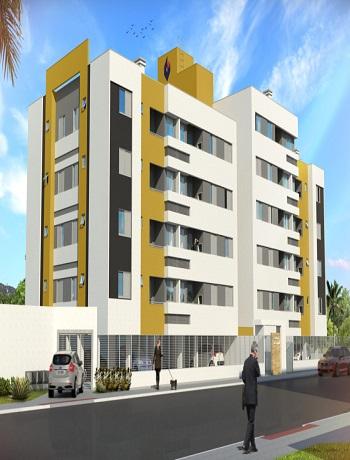 Apartamento 02 quartos, Vila Floresta, Criciúma