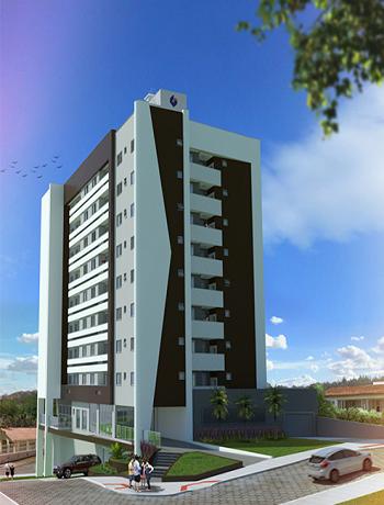 Apartamento 02 quartos novo, Rio Maina, Criciúma
